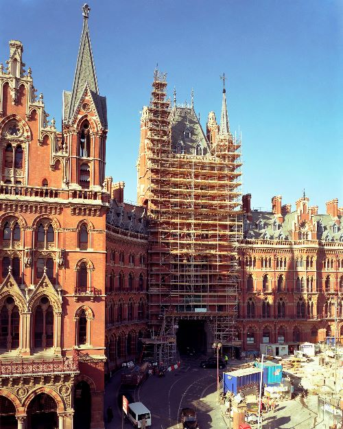 St Pancras Client Coventry Scaffolding