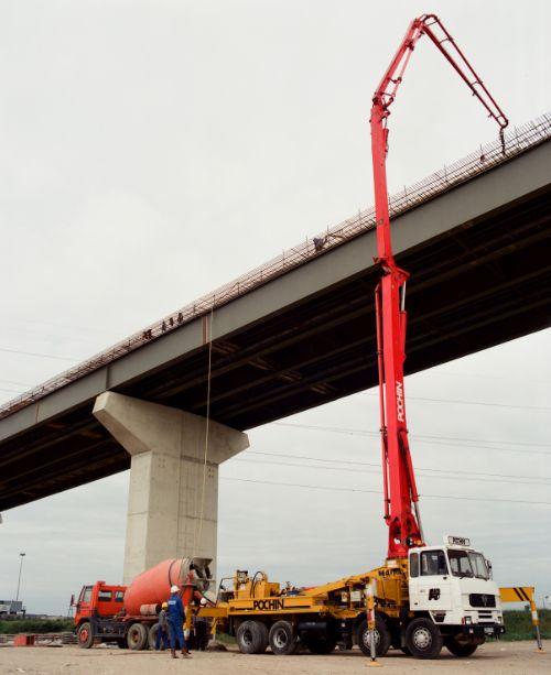 QE Bridge Concrete Pour Client Rmc
