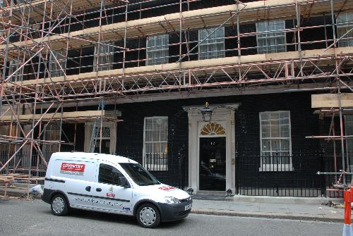 Downing Street Client Coventry Scaffolding