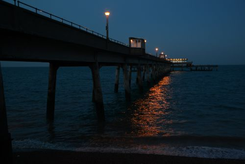 Deal Pier at Dusk