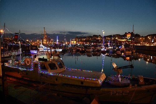 Ramsgate Harbour Christmas Lights