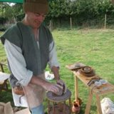 A Viking potter at Epworth Old Rectory
