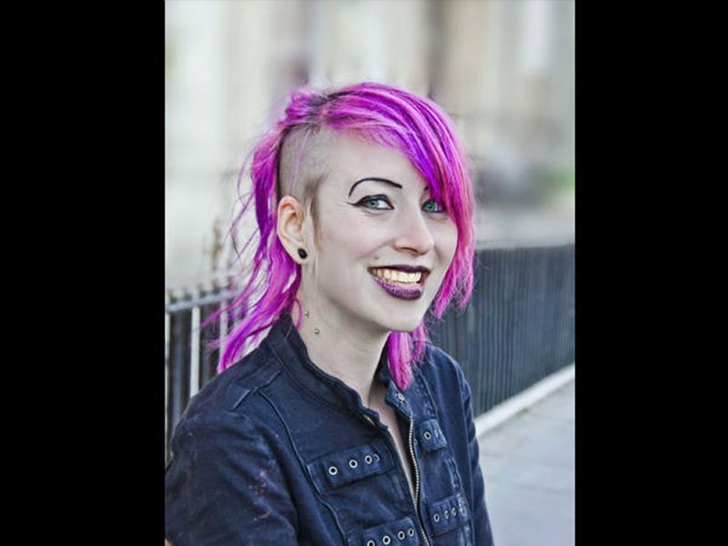 Pink Hair Goth