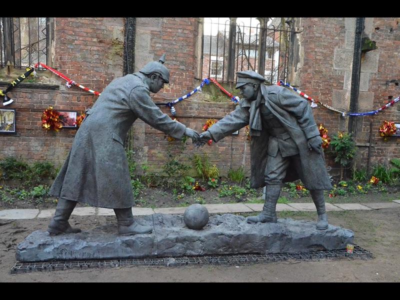 WW1 Handshake