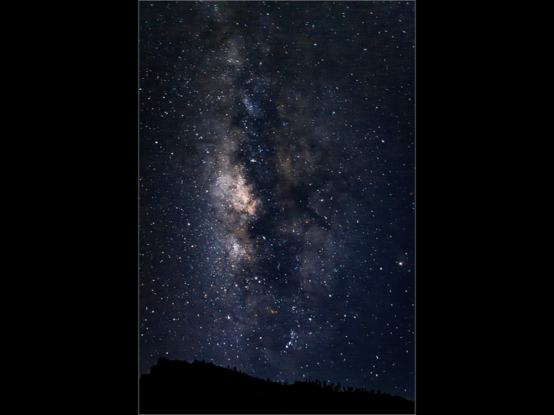 The Milky Way and Scorpius