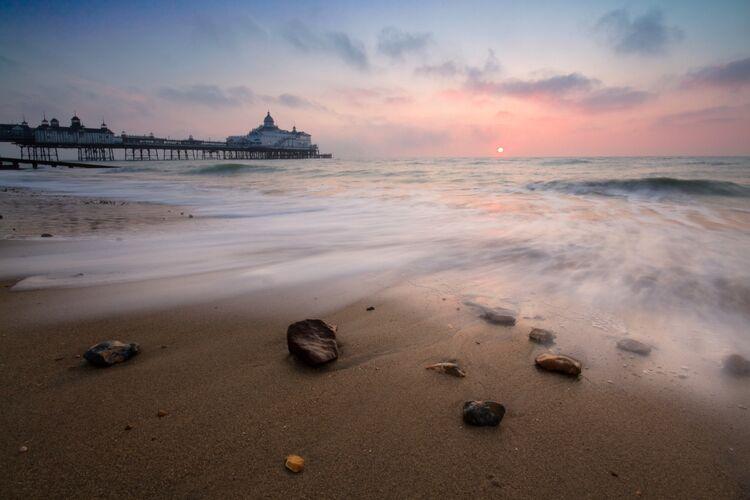 Eastbourne pier sunsrise
