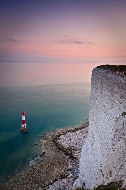 Sunset at the Beachy head lighthouse