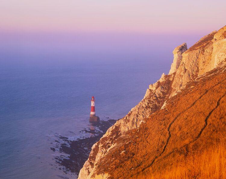Autumn morning at Beachy head lighthouse
