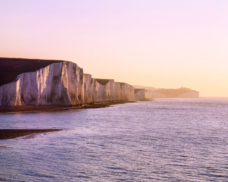The Seven sisters - winters sunrise.