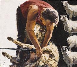 stack of sheep