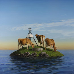trig station (cows)