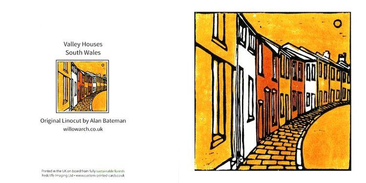 Valley Houses (Orange)