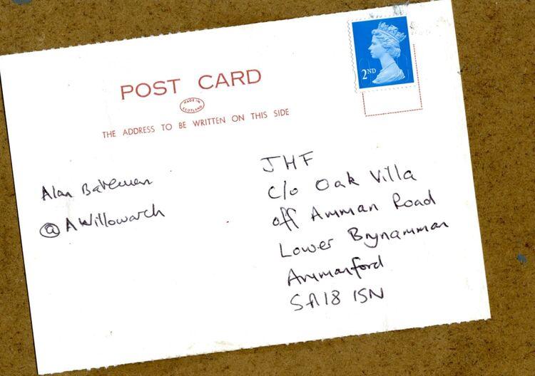 Postcard, Joseph Herman