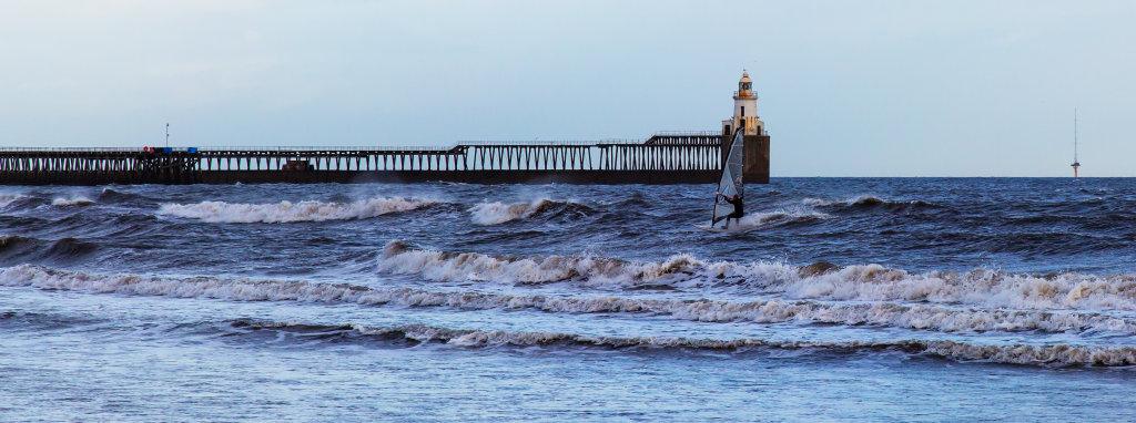 Windsurfing at Blyth