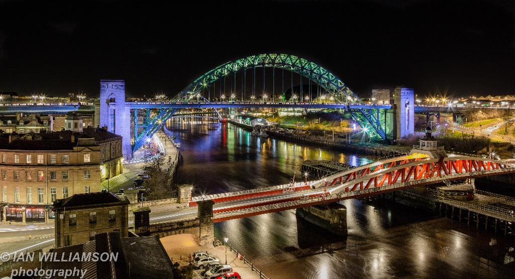 Evening River Tyne