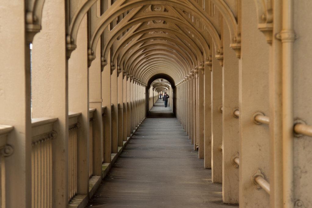 High Level Bridge Footpath