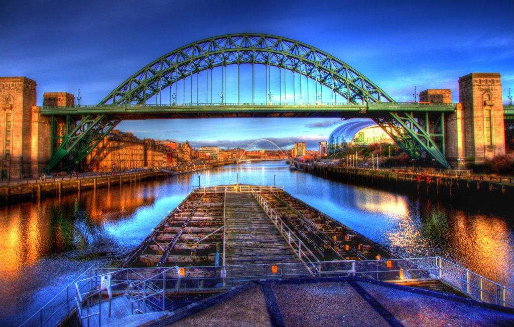 Tyne Bridge and Quayside