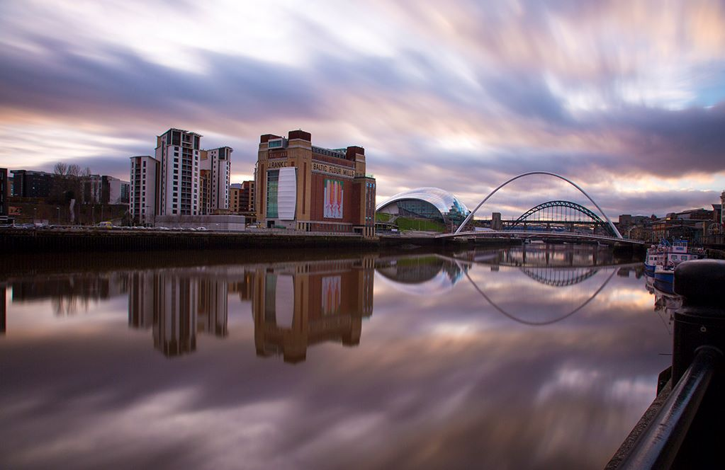 Quayside Clouds