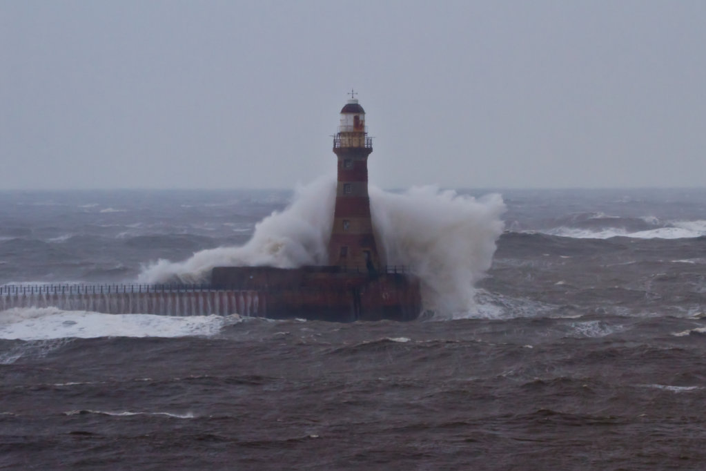Rough Seas at Roker