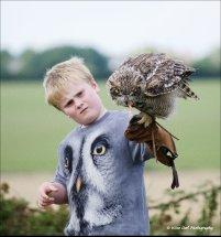 Siberian Eagle Owl 4 with Junior Handler Harry