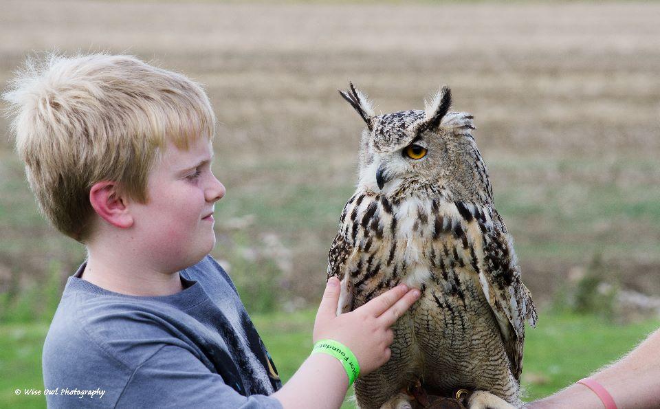 Siberian Eagle Owl 6 with Junior Handler Harry