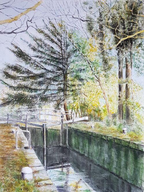 Basingstoke Canal near St Johns - Bryan Jones