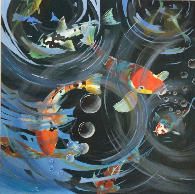 Lockdown Virtual Gallery Prize - Bubbles – Janice Cross