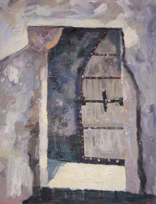 Doorway at Caernarvon Castle - Sue Wright