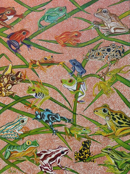 Frog Family - Sue Reynolds