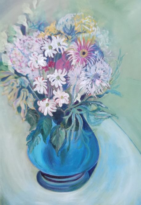 Grace Beckett - Blue Vase