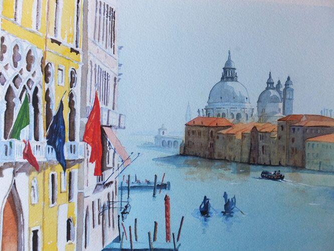 Grand Canal, Venice - David Harmer