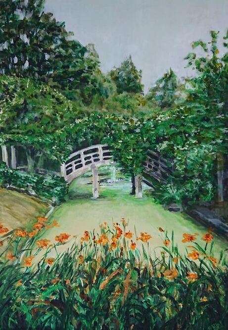 The Bridge at Great Fosters - Elaine Winter