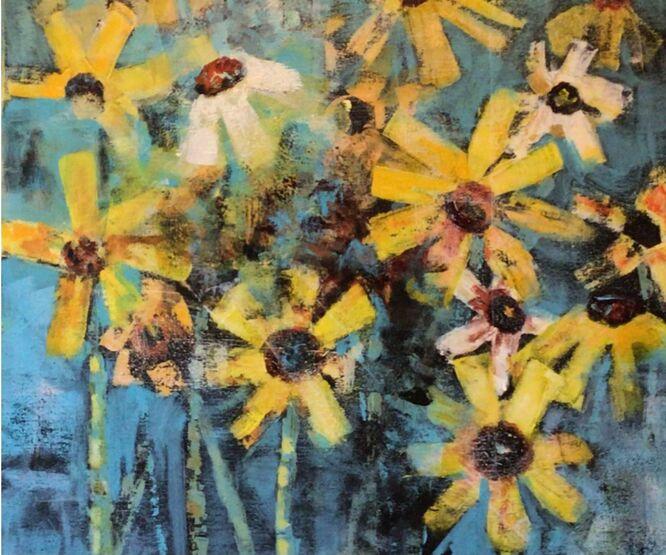 Burst of Colour - Fran Bunting