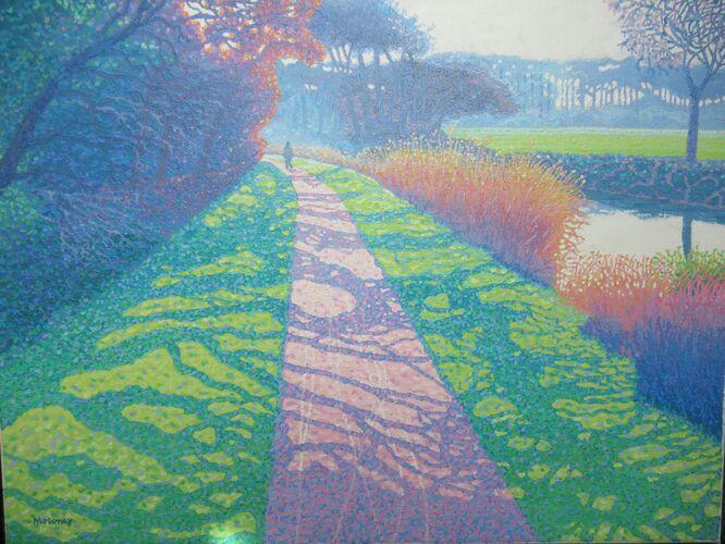 Early Morning Walk - Philip Moloney