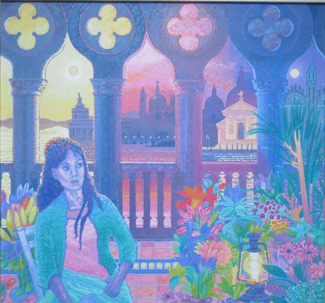The Italian Flower Seller - Philip Moloney