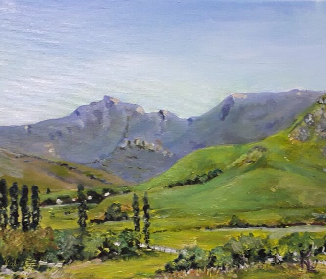 Drakensberg Mountains- Kathy Lemmer