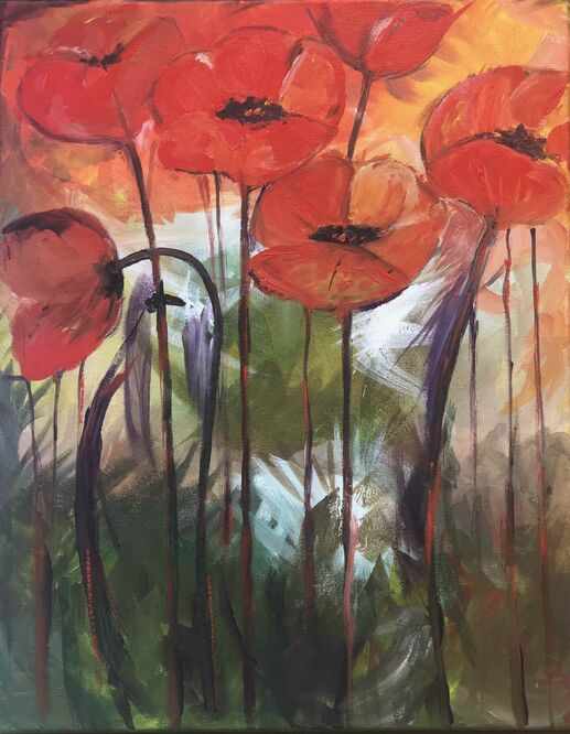 Poppies - Tracey Cipullo