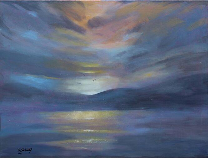 Irish Sunset - Liz Seward SWA