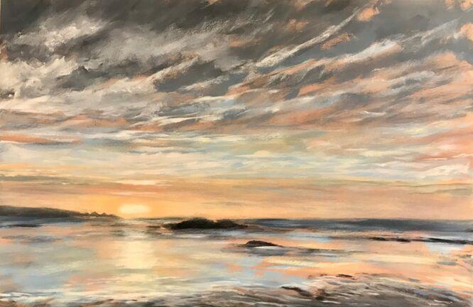 Mackerel Sunset - Lauren Sapseid