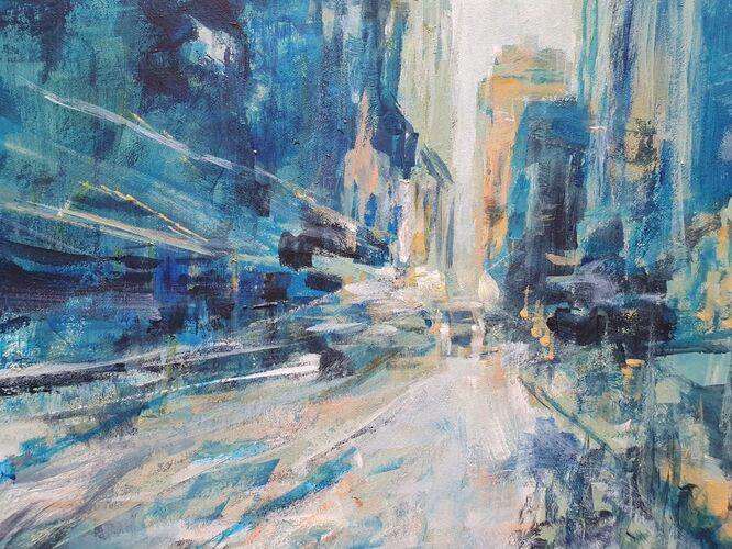 New York Snow - Laura Theobold