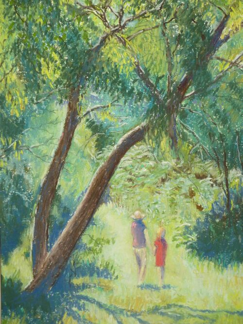 A Walk in the Bush - Ron Best