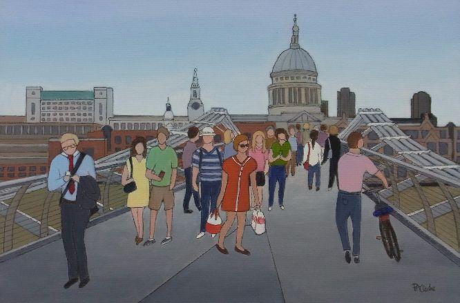 Pat Clarke - Over the Bridge