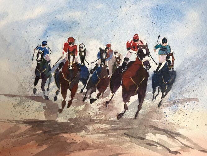 Race to the Finish - Elaine Balmer
