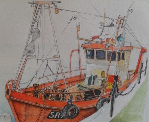 Red Trawler - Julia Jacs