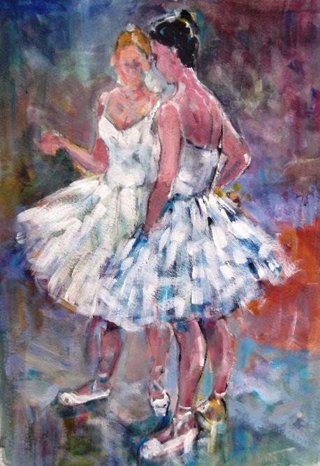 Sera Knight - Ballet Dancers Chatting