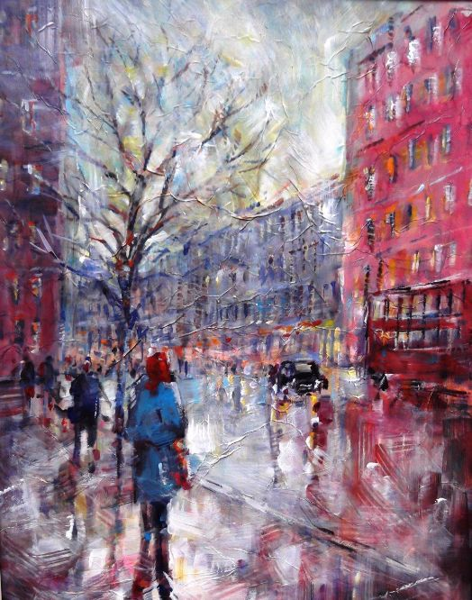 Sera Knight - London - Cold and misty in Town