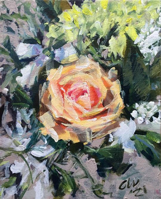 Still Life Flowers - Chris Wright