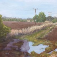 Sue Hinton - Autumn morning (Bawdsey, Sufffolk)
