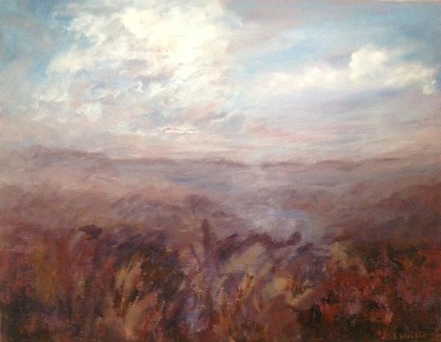 Sue Wright - Misty Moorland