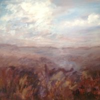 Sue Wright - Misty Moorland
